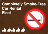 Smoke-free rental cars