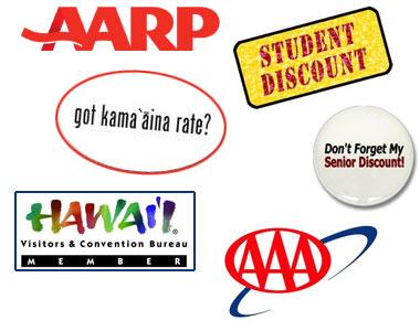 Membership Discounts and Specials