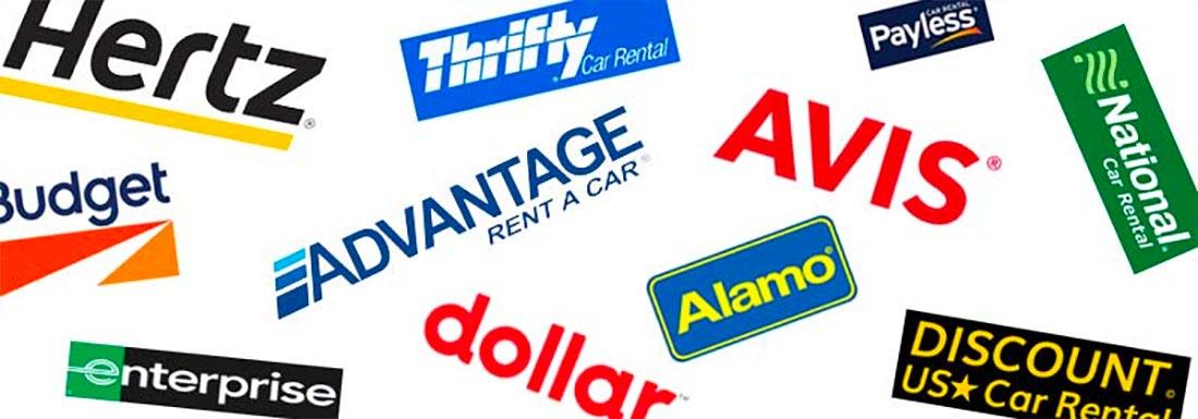 Maui Hawaii car rental logos