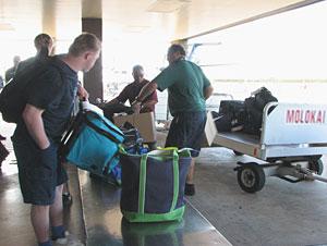 Molokai airport baggage claim
